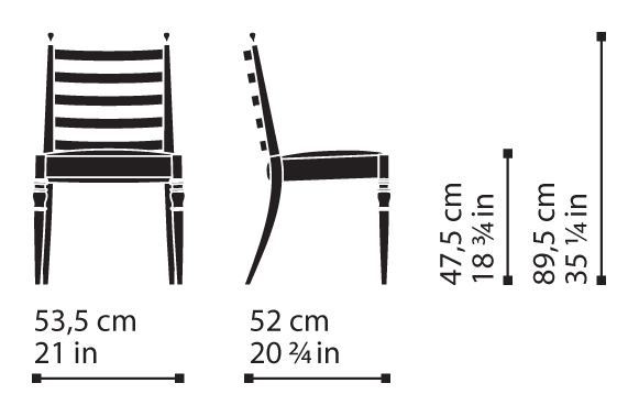 Misure Chair 11 / Century