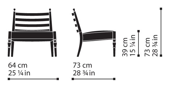 Misure Lounge Chair 14 / Century
