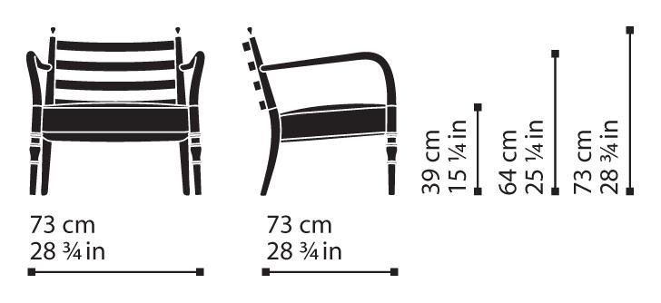 Misure Lounge Armchair 04 / Century