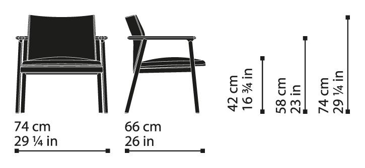 Misure Lounge Armchair 04 / Lord