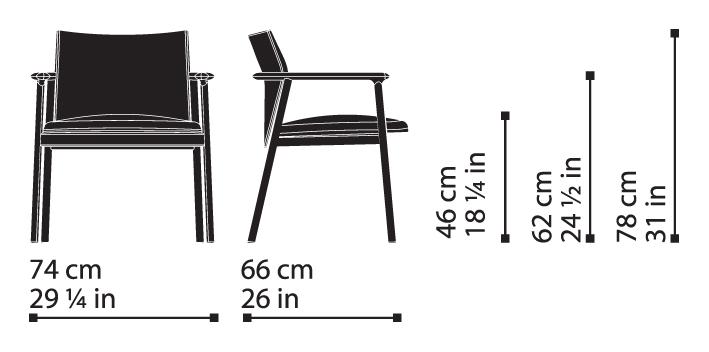 Misure Lounge Armchair 14 / Lord