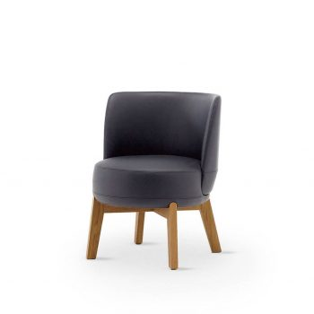 Lounge Armchair 02 L / Rond