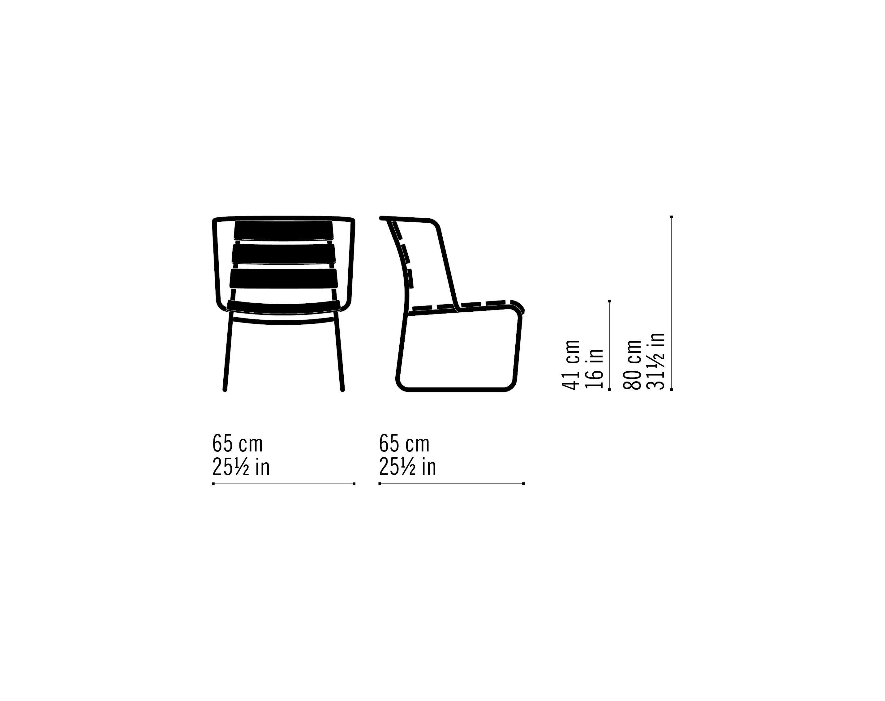 Misure Lounge Armchair 04 / Lido Out