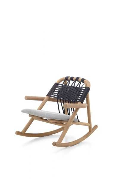 Rocking Chair 19 C Unam Out Very Wood Italian