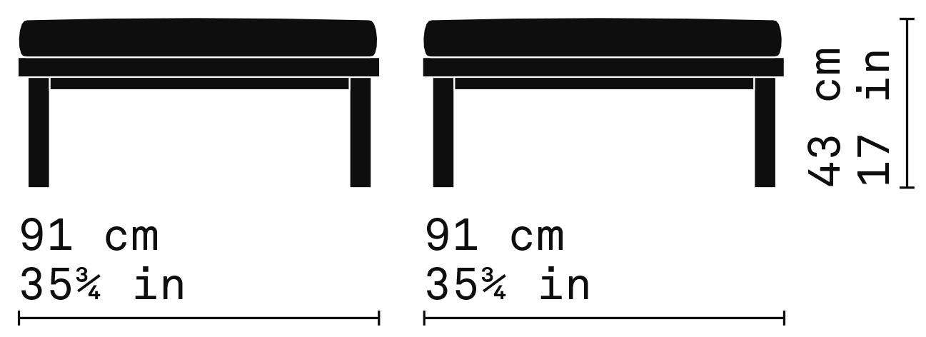 Misure Pouf 119 / Capri