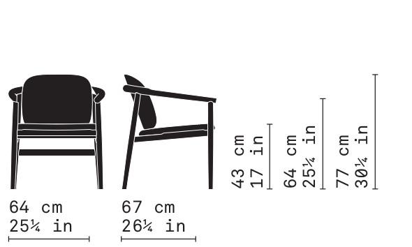 Misure Lounge armchair 04 / Maiyda