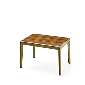 High Rectangular Coffee Table 04 / Bellevue