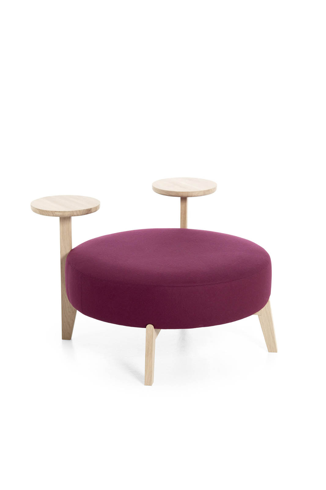 Misure Pouf.Pouf 90 Tr Isola Very Wood Italian Chair Makers