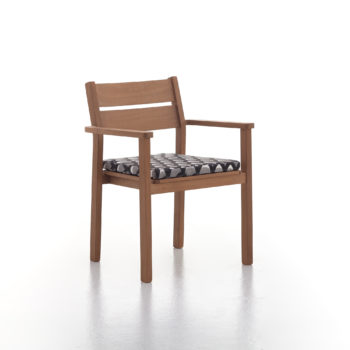 Stacking dining armchair 02 / Capri