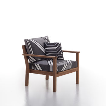 Stacking lounge armchair 04 / Capri