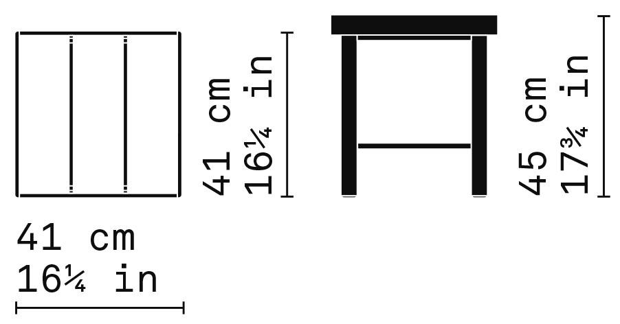 Misure Tavolino T01 / Capri