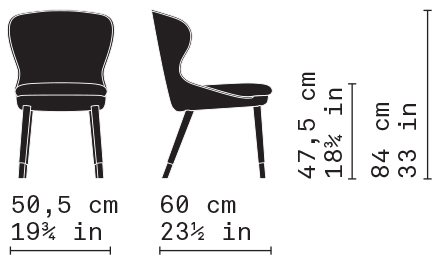 Misure Dining Chair 01 / Heritage