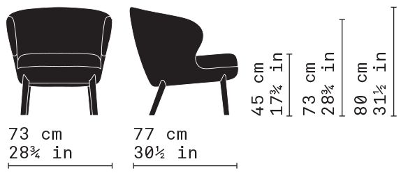 Misure Lounge Armchair 04 / Heritage