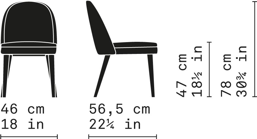 Misure Dining Chair 01 / Carmen